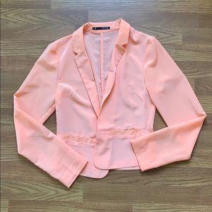 Peach Maurice's Blazer